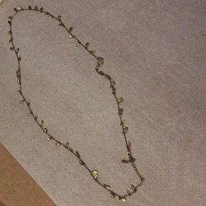 Lia Sophia Leaf Necklace